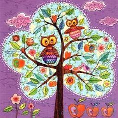 Postkarte Baum
