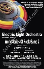 July 1978 World Series of Rock Cleveland Ohio Sound Of Music, I Love Music, Music Is Life, Tour Posters, Band Posters, Music Posters, Journey Concert, Jimi Hendrix Poster, Jeff Lynne Elo