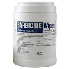 Barbicide Wipes Disinfectant