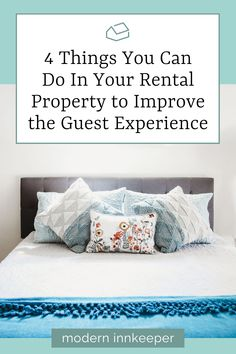 So, what can you do to improve a guest experience? Having a detailed listing description with photos that accurately represent your rental and its surroundings is the expectation. By doing a little bit more, you can personalize the experience and create a special atmosphere for your guests. Here are some ideas to help achieve the goal of providing a personalized guest experience! #guestexperience #rentalproperty #rentalhost #airbnb #airbnbhost