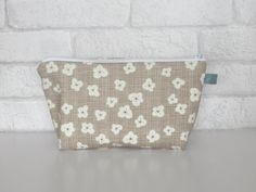 Make Up Bag / Wash Bag in Autumn Woods Collection by ollieandroo