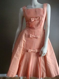 Vintage 50s Suzy Perette New York Dress by buttonsnsuch on Etsy