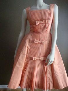 Vintage 50s Suzy Perette New York Dress