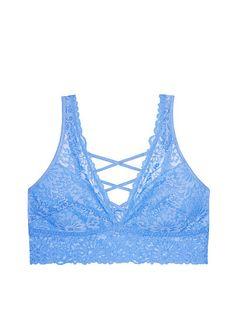 Unlined Wildflower Lace Plunge Bralette