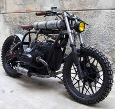 Radical BMW R45 by Delux motorcycles