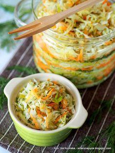 kapustka-mloda-kiszona Polish Recipes, Polish Food, Guacamole, Detox, Cabbage, Clean Eating, Baking, Vegetables, Ethnic Recipes
