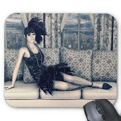 #Roaring #Twenties #Mousepad #vintage #retro