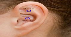 Acupuncture Holistic Healthcare Ear Pressure Points To Relieve Stress. Ear Pressure Points, Acupuncture Stress, Acupuncture Points, What Happens If You, Shit Happens, Ear Reflexology, Acupressure Massage, Acupressure Treatment, Ear Health