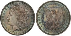 1895 O Morgan Dollar PCGS MS65 CAC sold for $211,500 at the Legend Rare Coin Auctions, Regency Auction XIV, Part II of The Coronet Collection, in Las Vegas, Nevada, October 15, 2015...While this sale had a wide variety of coins from Half Cents through $20 Gold, there was a concentration of Dollars that was nothing less than spectacular, highlighted by the Coronet Collection which contained many Morgan Dollars from the legendary Jack Lee Collections.... Jack Lee, Coin Auctions, Cartwheel, Rare Coins, Rarity, Regency, October 15, Helpful Tips, Nevada