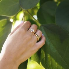 Fleur Ring Amethyst, Sapphire, Pink Tourmaline, Solid Gold, Garnet, Silver Rings, Gemstones, Spring, Accessories