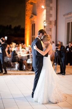 First dance shot (love this wedding)