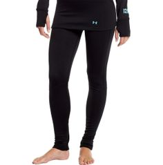 Don't let Mother Nature ruin your favorite outdoor activities. Layer on the ColdGear 3.0 Baselayer Pants and stay warm all winter long. These pants have flatlock stitching and ergonomic seam placement for superior comfort, while ARMOURBLOCK® and anti-odor technologies keep your gear fresher for longer. The Under Armour® Women's ColdGear® 3.0 Baselayer Pants are the ideal first layer for your favorite cold-weather activities.