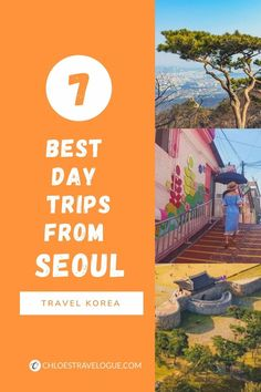 7 Best Day Trips from Seoul | #SeoulDayTrips #DayTripsfromSeoul #VisitKorea #TravelSeoul China Travel, Japan Travel, Amazing Destinations, Travel Destinations, South Korea Travel, Backpacking Asia, Travel Tips, Travel Advice, Travel Ideas