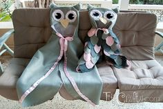 Mommy & Me DIY Halloween Owl Costumes - Titicrafty by Camila