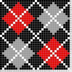 Tricksy Knitter by Megan Goodacre Tapestry Crochet Patterns, Intarsia Patterns, Quilt Patterns, Knitting Charts, Knitting Stitches, Knitting Patterns, Cross Stitch Embroidery, Cross Stitch Patterns, Cross Stitching
