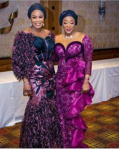 Beautiful Gowns, Beautiful People, Yoruba Wedding, Nigerian Lace, Aso Ebi Styles, African Fashion, African Beauty, African Lace, Formal Dresses