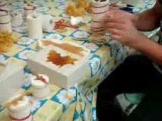 candele con cera d'api