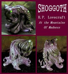 H.P. Lovecraft - SHOGGOTH by zombiequadrille.deviantart.com on @deviantART