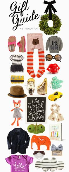 Holiday Gift Guide for the Trendy Tot