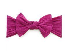 Knot Headband- Raspberry