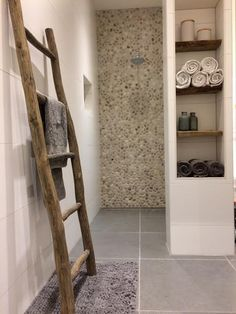 Towel Rail, Home And Living, Home Remodeling, Ladder Decor, Building A House, Building Ideas, Sweet Home, New Homes, House Design