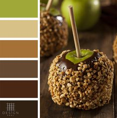 Find beautiful seamless vector designs for use in residential and commercial interior design. Brown Color Schemes, Paint Color Schemes, Brown Color Palettes, Chocolate Brown Paint, Chocolate Color, Blackberry Syrup, Pool Colors, Food Menu Design, Apple Coloring