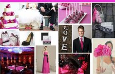 Hot pink bridal theme ideas for your big day