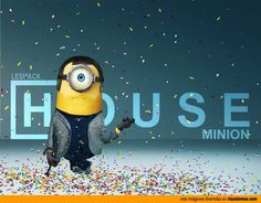 Dr. House como un Minion.
