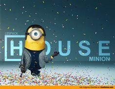 Dr. House como un Minion.