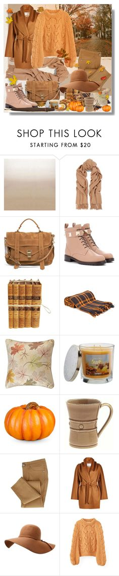 """""""Autumn Inspiration"""" by shewalksinsilence ❤ liked on Polyvore featuring Designers Guild, Acne Studios, Proenza Schouler, Valentino, Denis Colomb, Madison Park, SONOMA Goods for Life, Improvements, Juliska and MaxMara"""