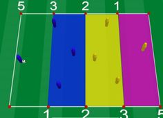 Check out this rugby-like soccer drill at soccerdrills.eu #soccerdrills #soccer #drills