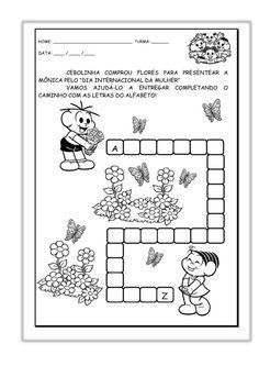 Atividades alfabetização