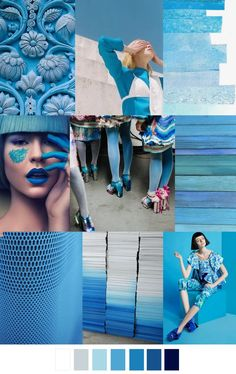 A/W 2017-18 pattern & colors trends: SMURFETTE