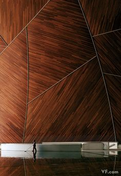 interior at Peking University, China - photo by Todd Eberle