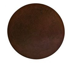 Rustic Round Copper Table Top