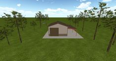Cool 3D #marketing http://ift.tt/2Ej6QdW #barn #workshop #greenhouse #garage #roofing #DIY