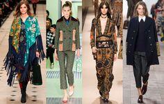 Burberry Prorsum/ Prada/ Etro/ Michael Kors. #tendencias #moda #otoño2015 #invierno2015