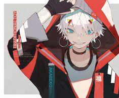 Pelo Anime, Anime Oc, Anime Kawaii, All Out Anime, Dark Anime Guys, Anime Demon Boy, Estilo Anime, Image Manga, Anime People