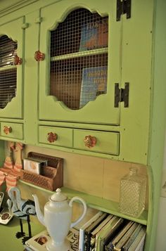 Love this hutch. French country?