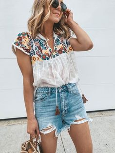 44 Graceful Summer Fashion Trends Ideas For Women To Look Cool Boho Outfits, Casual Outfits, Fashion Outfits, Womens Fashion, Fashion Clothes, Casual Summer Outfits Women, Boho Spring Outfits, Hipster Outfits, Urban Outfits