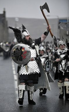 Spectacular Viking 'Up Helly Aa' Fire Festival Sears Through Shetland Islands (PICTURES)