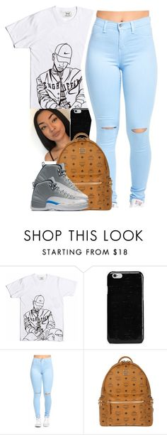 """""""Sans titre #21"""" by kabengeleleslie ❤ liked on Polyvore featuring L.E.N.Y., Maison Margiela and MCM"""