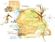 Cristiano Lissoni | Map of Senegal