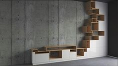 #concrete #concretewalls #shelves #wardrobe #bedroomdesign #ets - Architecture and Home Decor - Bedroom - Bathroom - Kitchen And Living Room Interior Design Decorating Ideas - #architecture #design #interiordesign #diy #homedesign #architect #architectural #homedecor #realestate #contemporaryart #inspiration #creative #decor #decoration