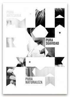 Pureza by Bili Cardona, via Behance