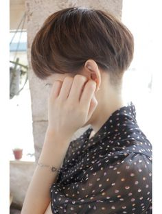 Short Hair Cuts For Women, Girl Short Hair, Short Hair Styles, Pixie Hairstyles, Pixie Haircut, Pelo Ulzzang, Crop Hair, Very Short Haircuts, Hair Arrange