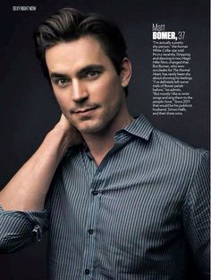Welcome to Shades of Bomer. White Collar Neal, Matt Bomer White Collar, Neal Caffery, Josh Bowman, The Normal Heart, Simon Halls, Hot Asian Men, Magic Mike, Famous Faces