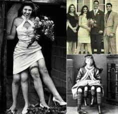 La mujer de las cuatro piernas , Josephene Myrtle Corbin.