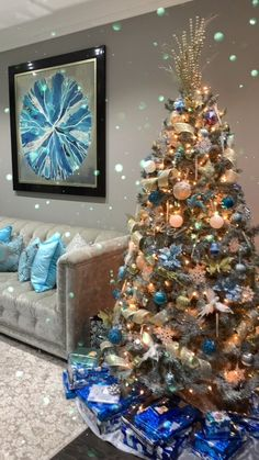 thesekhonteam_remax on Instagram: Good Night Insta friends🌙with view of our Living Room and Christmas Decor. Night-night 😴⠀ ⠀ 💎Thinking of Selling or Buying? Call Us 👇👇👇… Night Night, Good Night, Christmas Decorations, Christmas Tree, Holiday Decor, Audio, Real Estate, Living Room, The Originals