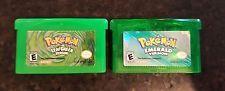 Pokemon Leaf Green and Emerald Games for Nintendo DS Advance  get it http://ift.tt/2cav3Ek pokemon pokemon go ash pikachu squirtle